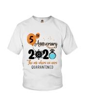 5th Anniversary quarantined Youth T-Shirt thumbnail