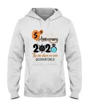 5th Anniversary quarantined Hooded Sweatshirt thumbnail