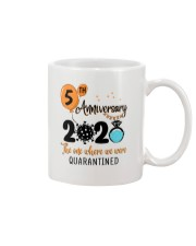 5th Anniversary quarantined Mug thumbnail