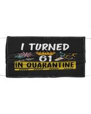 61 I turned in quarantine Cloth face mask thumbnail