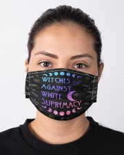Witches against white supremacy Cloth face mask aos-face-mask-lifestyle-01