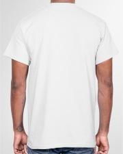 Black Educated And Petty Classic T-Shirt garment-tshirt-unisex-back-04