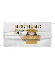 Girl Nothing Can Stop Me Cloth face mask thumbnail