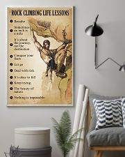 Rock Climbing Life Lessons 11x17 Poster lifestyle-poster-1