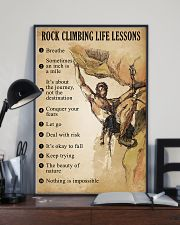 Rock Climbing Life Lessons 11x17 Poster lifestyle-poster-2
