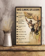 Rock Climbing Life Lessons 11x17 Poster lifestyle-poster-3