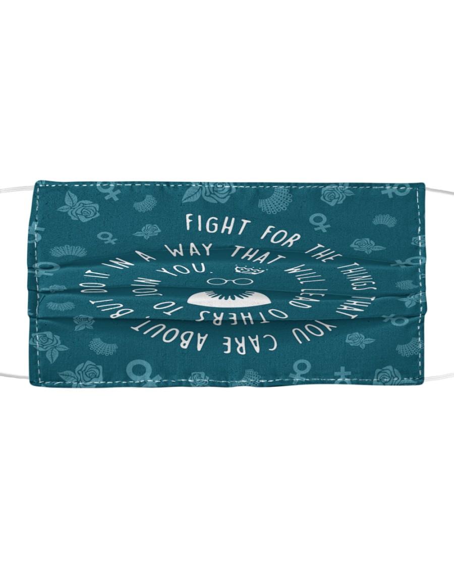 RBG fight pattern Cloth face mask