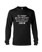 October birthday the one Long Sleeve Tee thumbnail