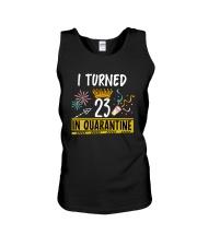 23 I turned in quarantine Unisex Tank thumbnail