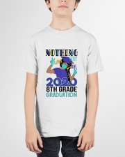Black girl 8th grade Color Nothing Stop Youth T-Shirt garment-youth-tshirt-front-01