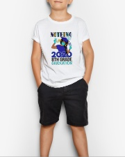 Black girl 8th grade Color Nothing Stop Youth T-Shirt lifestyle-youth-tshirt-front-1
