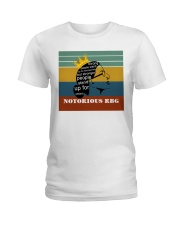 RBG retro strong people Ladies T-Shirt thumbnail