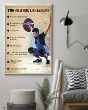 Powerlifting Life lessons 11x17 Poster lifestyle-poster-1