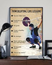 Powerlifting Life lessons 11x17 Poster lifestyle-poster-2