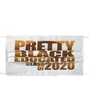 pretty black Cloth face mask thumbnail