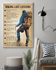 Hiking life lessons 11x17 Poster lifestyle-poster-1