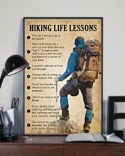 Hiking life lessons 11x17 Poster lifestyle-poster-2