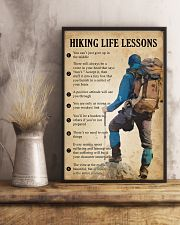 Hiking life lessons 11x17 Poster lifestyle-poster-3