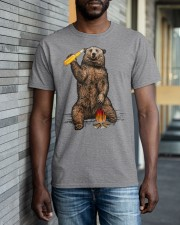 Bear Hates People Shirt front Classic T-Shirt apparel-classic-tshirt-lifestyle-front-40