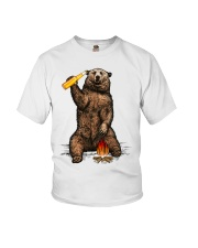 Bear Hates People Shirt front Youth T-Shirt tile
