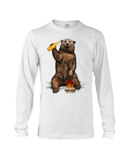 Bear Hates People Shirt front Long Sleeve Tee tile