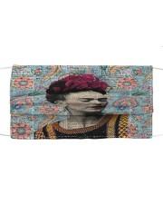 Frida Kahlo floral dict art Cloth face mask front