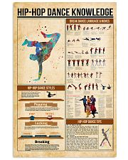 Hip hop dance knowledge 11x17 Poster front