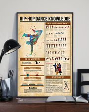 Hip hop dance knowledge 11x17 Poster lifestyle-poster-2