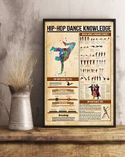 Hip hop dance knowledge 11x17 Poster lifestyle-poster-3