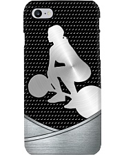 Weightlifter Metal Print case Phone Case i-phone-8-case
