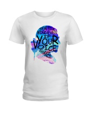 RBG speak mind color Ladies T-Shirt thumbnail