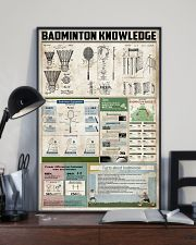 Badminton Knowledge 11x17 Poster lifestyle-poster-2