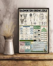 Badminton Knowledge 11x17 Poster lifestyle-poster-3