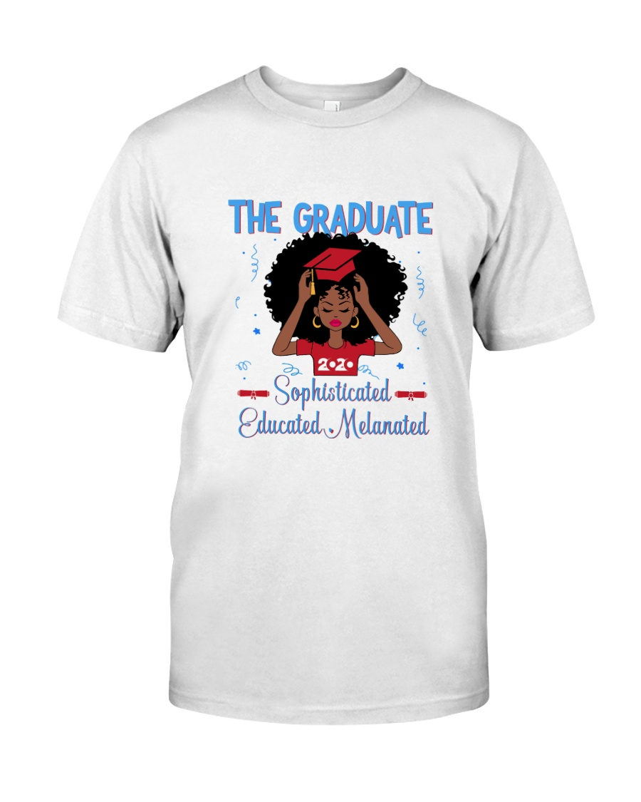 The graduate melanated red Classic T-Shirt