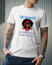The graduate melanated red Classic T-Shirt lifestyle-mens-crewneck-front-6
