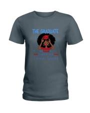 The graduate melanated red Ladies T-Shirt thumbnail
