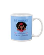 The graduate melanated red Mug thumbnail