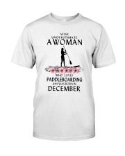 Paddleboarding Woman Love Classic T-Shirt front
