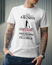 Paddleboarding Woman Love Classic T-Shirt lifestyle-mens-crewneck-front-6