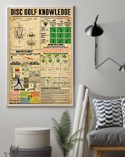 Disc Golf Disc Golf knowledge poster 11x17 Poster lifestyle-poster-1
