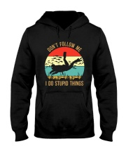 Bigfoot Freediving I Do Stupid Things Hooded Sweatshirt tile