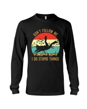 Bigfoot Freediving I Do Stupid Things Long Sleeve Tee thumbnail