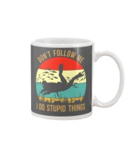 Bigfoot Freediving I Do Stupid Things Mug tile