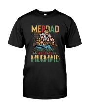 Merdad Mermaid Color Classic T-Shirt front