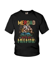 Merdad Mermaid Color Youth T-Shirt tile