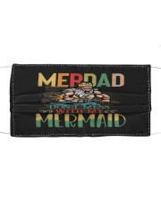 Merdad Mermaid Color Cloth face mask thumbnail