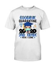 White Boy 2nd grade Goodbye quarantine Classic T-Shirt thumbnail