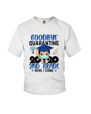 White Boy 2nd grade Goodbye quarantine Youth T-Shirt front