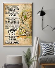 Orienteering Today Is A Good Day 11x17 Poster lifestyle-poster-1