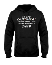 My 3rd birthday the one where i was quarantined Hooded Sweatshirt thumbnail